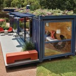 stylish shipping container guest house